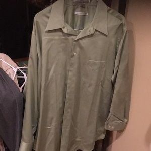 Nwot men's Geoffrey Bean button down pocket front